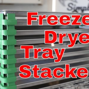 New HARVESTRIGHT Freeze Dryer Tray Stackers!