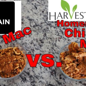 Mountain House Chili Mac // vs //Harvestright Freeze dryer Chili Mac HOMEMADE