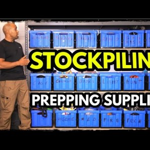 DO THIS NOW! Stockpiling Supplies for Grid Down Emergency