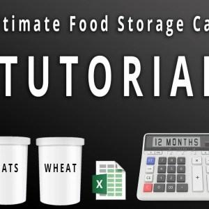 Ultimate Food Storage Calculator Tutorial