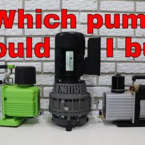 Freeze Dryer Vacuum Pump Comparison (Oil Less, Premier, Standard) -- HARVESTRIGHT