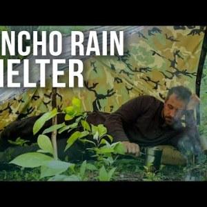 Impromptu Poncho Rain Shelter | ON Three