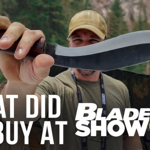 What Did We Buy at Blade Show 40?