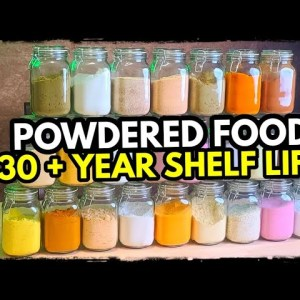 25 Powdered Foods That Last Forever (Apocalypse Proof)
