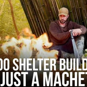 Building a Bamboo Shelter | Machete Survival Series | ON Three