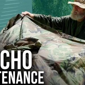 Survival Poncho Maintenance | ON Three