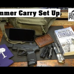 Summer Carry : Fanny Pack Set-Up
