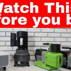 Watch This Before Buying a Freeze Dryer Vacuum Pump -- Comparing All 4 Freeze Dryer Pumps