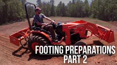 Footing Prep   Part 2   Forest to Farm