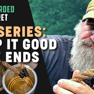 Tipi Series: How to Whip Your Rope Ends | Gray Bearded Green Beret