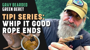 Tipi Series: How to Whip Your Rope Ends   Gray Bearded Green Beret