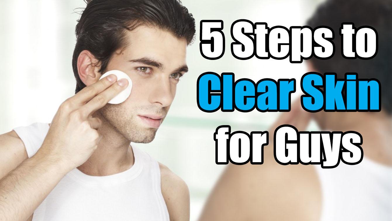 men clear skin diet