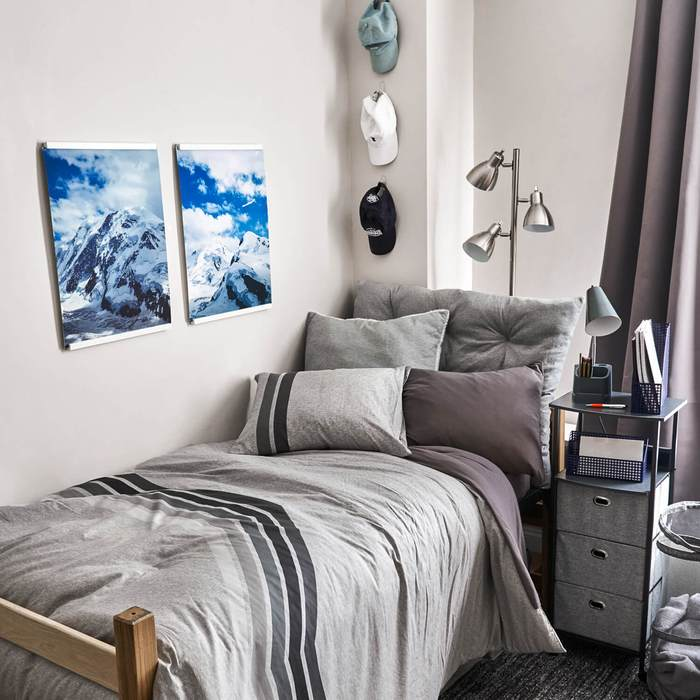 15 Cool College Dorm Room Ideas for Guys to Get ... on Bedroom Ideas Guys  id=38087