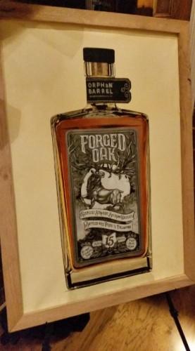 Stitzel-Weller Forged Oak board