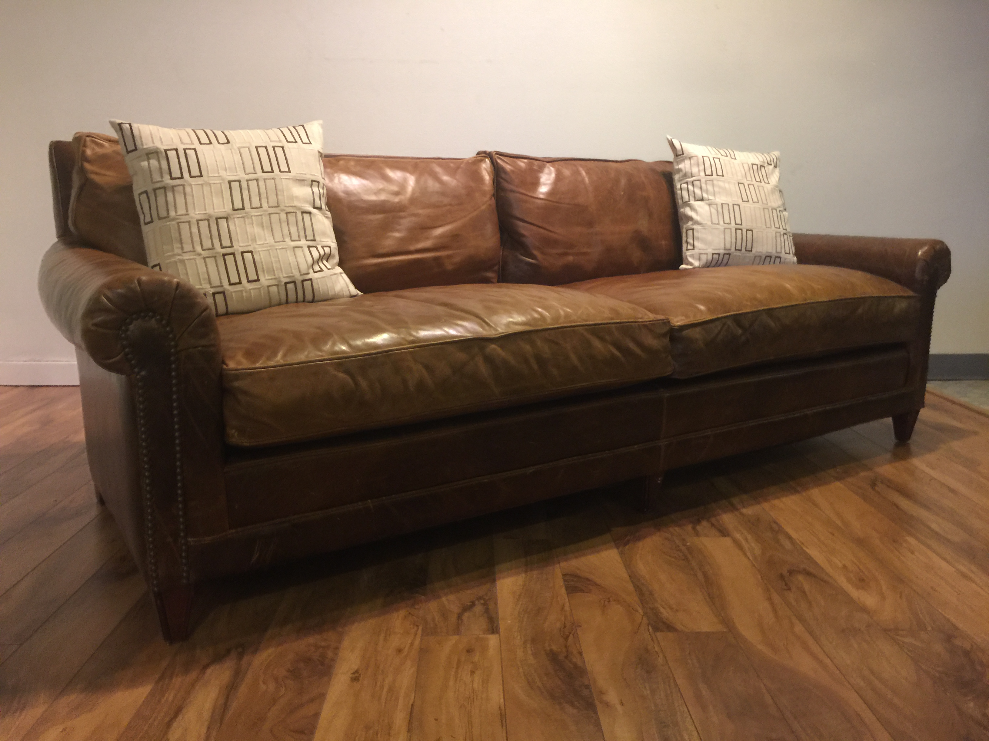 ralph lauren home chesterfield sofa ebay sofas second hand sold leather modern to vintage