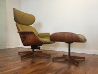 SOLD - Plycraft Mid Century Lounge Chair & Ottoman ...