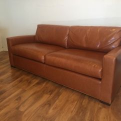 Baker Leather Sofas Modular Next Sold Furniture Coach Sofa Modern To