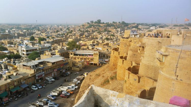 The Fort at Jaisalmer