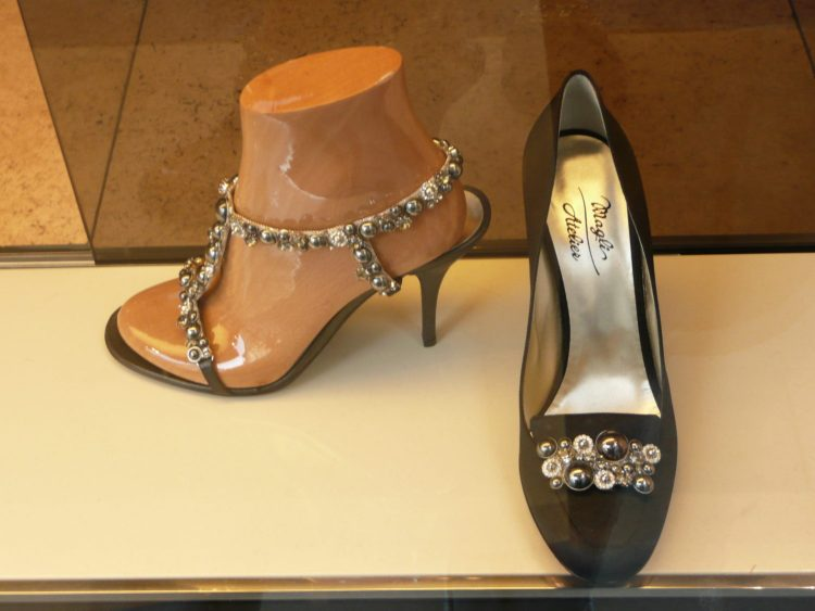 Heels for sale on Europe's most expensive street