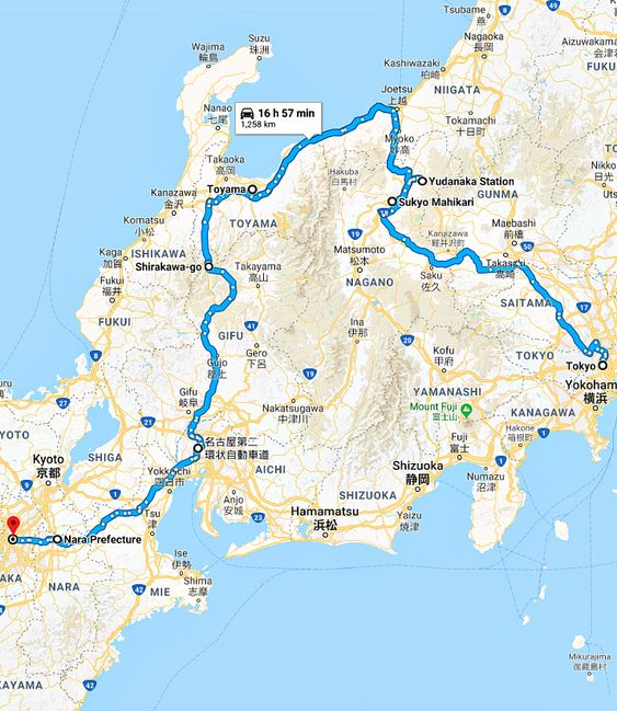 Tokyo To Kansai