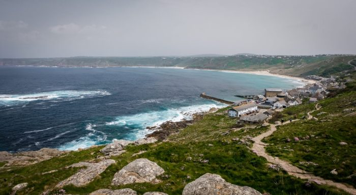 Sennen Cove and Land's End, Cornwall