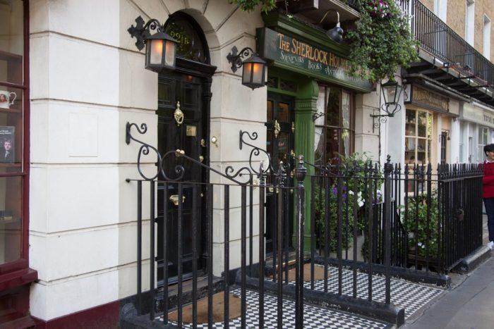 Sherlock Holmes House, London