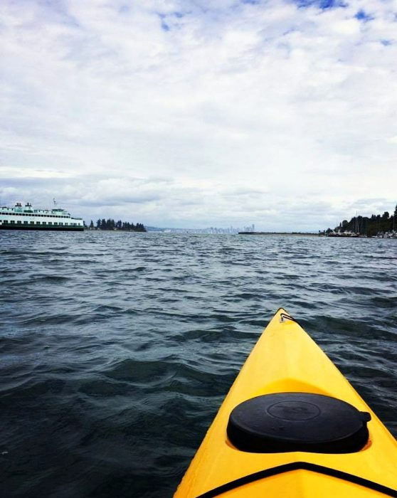 Kayaking on Bainbridge Island