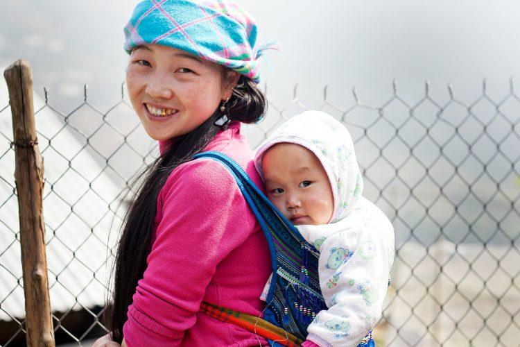 Children in Sa Pa, Vietnam