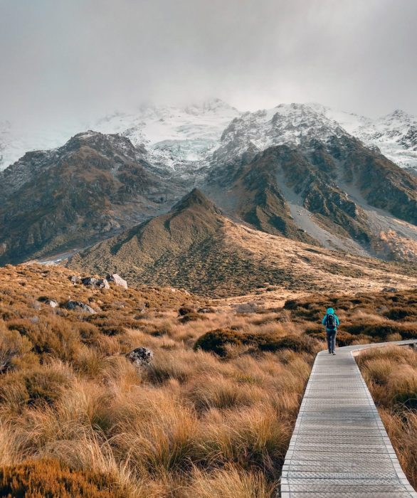 Hooker Valley Track, Mount Cook National Park, New Zealand