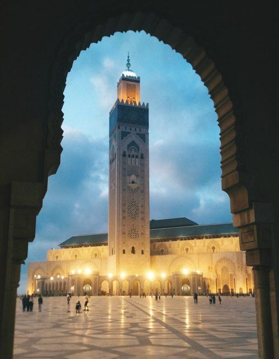المسجد_حسن_التاني, The Desert Sand Dunes, Marrakesh, Top Sights In Morocco You Need To See