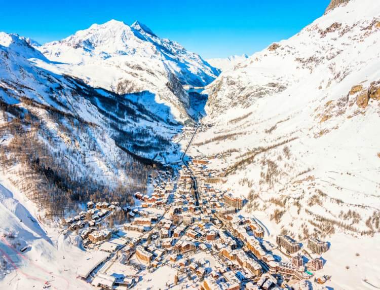 Val-d'Isère is one of the best places to ski in the world