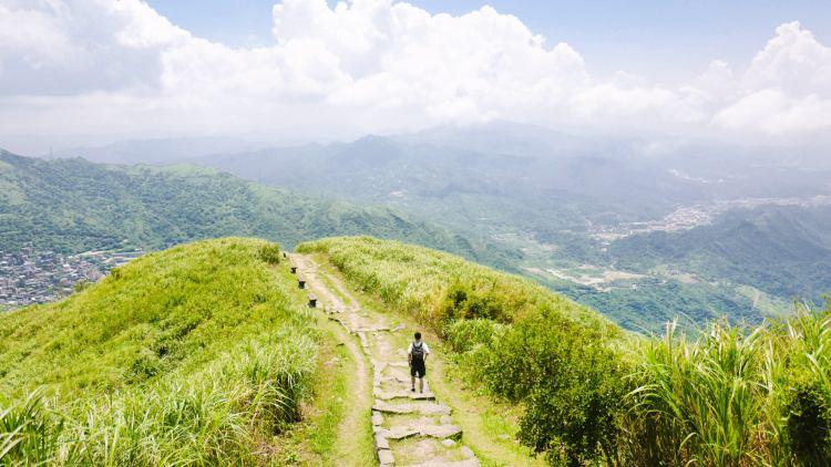 Keelung Mountain In Jiufen