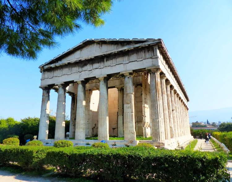 The Ancient Agora of Athens is worth seeing as you spend 3 days in Athens.