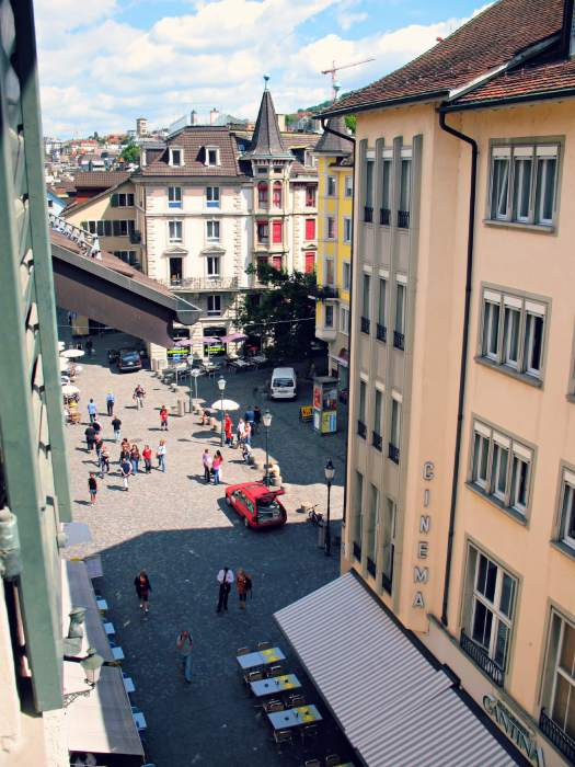 Niederdorf is one of the best places to visit in Zürich.