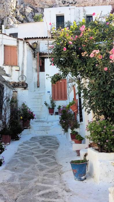 Be sure to check out Plaka district during your 3 days in Athens.