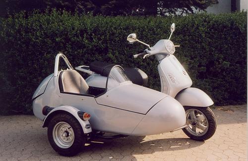 lx150 dengan sidecar