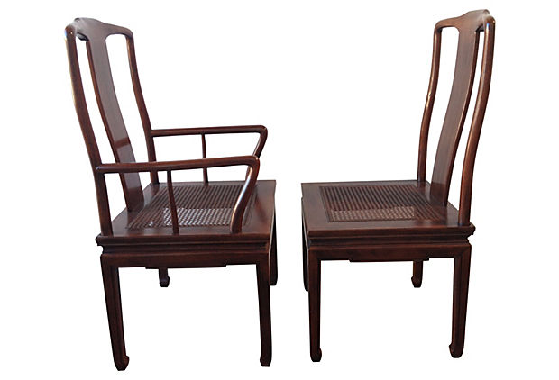 henredon asian dining chairs chair attached to table inspired s 8 modern vintage mix