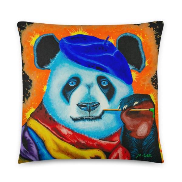 Artist Panda Cushion (1)