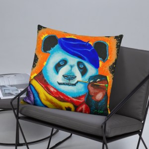 Artist Panda Cushion (7)