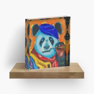 Artist Panda_ Acrylic Block by mikeylee (2)