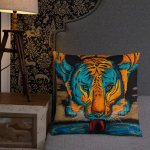 Eyes of the Tiger-Cushion (5)