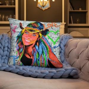 Peace and love Marlenka Cushion (5)