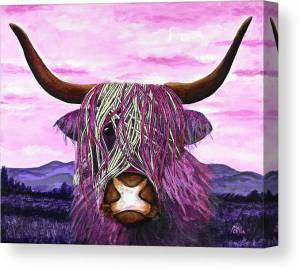 highland-cow-the-forgotten-beauty-marlena-lee-canvas-print