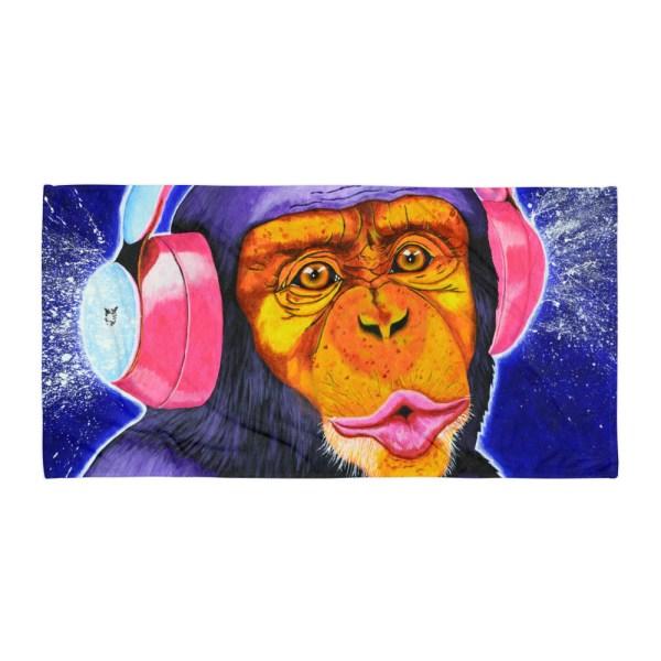 Funky-Monkey-Towel-Modern-Wall-Art (2)