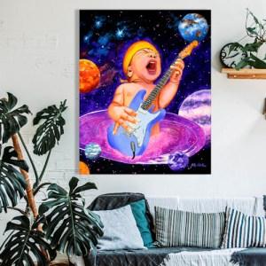 Modern wall art canvas prints