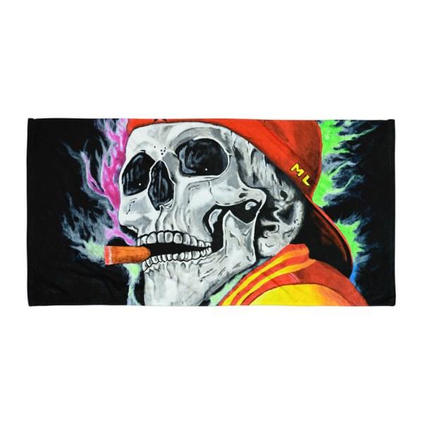 Skull-One-Last-Cigar-Towel-Modern-Wall-Art (2)