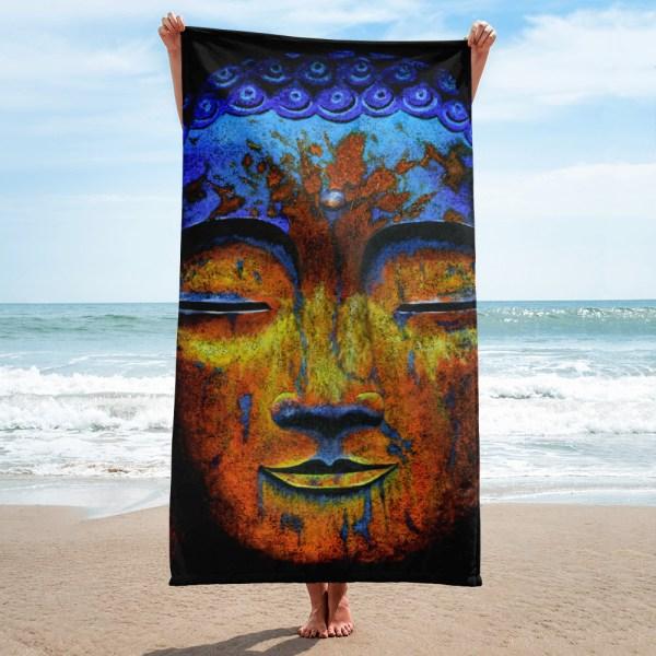 Zenful-Buddha-Towel-Modern-Wall-Art (1)