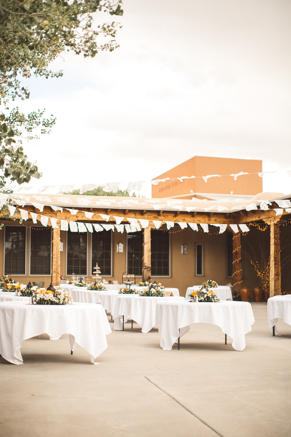 orange fiesta wedding