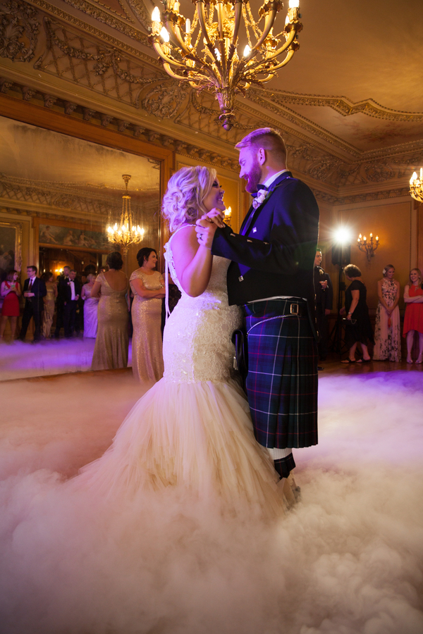 glam mansion wedding