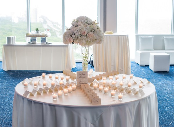 modern ballroom wedding